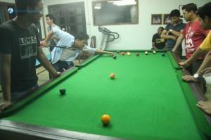 51. Late night pool