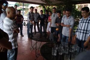 14.Beer pong