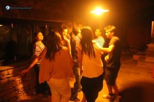 24. Circular Group Dance