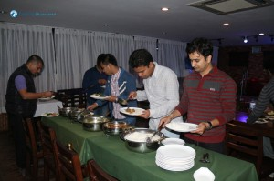 31. Rice Guys and Cheura Guy for Dinner.