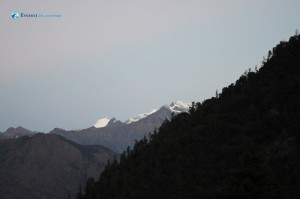 3. First Glimpse of Mountain
