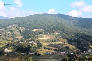 48. The terraces at Nagarkot