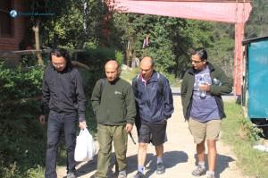5. Hike starts from Godavari