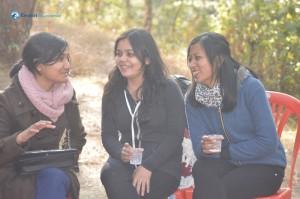 19. Girls' gossip