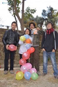 22. Balloon Tower
