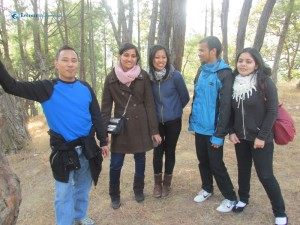 24. Hiking in the picnic