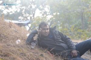 27. Mahadev on the pose