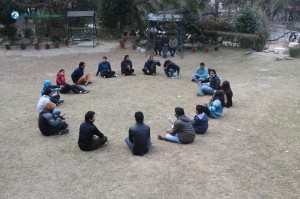 35. Serious Discussion Circle