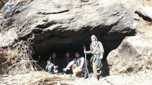 74. We lost and found a cave