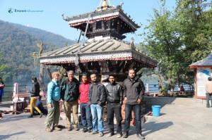 38. Posing @ Bahari Temple