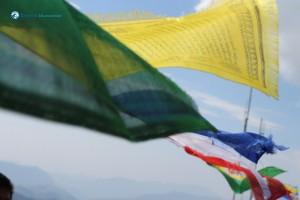 39. Buddhist Holy Prayer Flag (Lung ta)