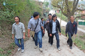 10. Sanu stealing from Gautam's bag