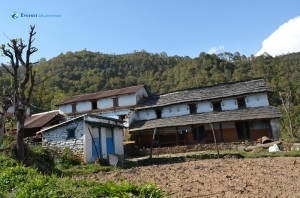 40. Typical Nepali house