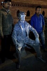 78. Living Statue