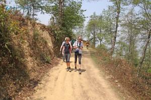 4. Hike starts