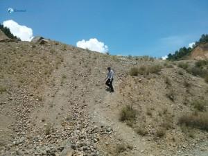 22. Dancing steps on slope