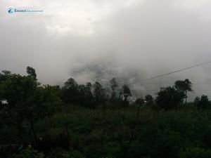 29. Misty hills