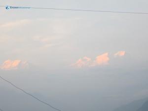 34. mountain far away