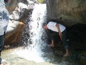 35. Natural shower