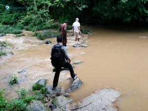 36. Crossing Bagmati without a bridge
