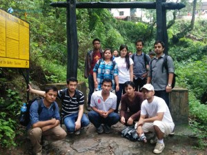 38. Concluding our hike at Sundarijal