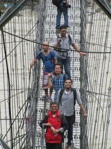 17. On the bridge