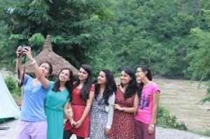 22. Group selfie