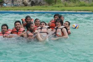 38. Naughty Swimmers