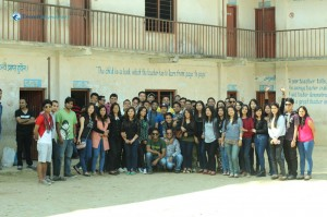 10. Group photo at school