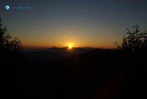 42. Sunrise from daman