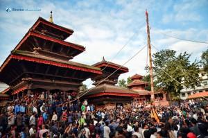 Indra Jatra at Basantapur