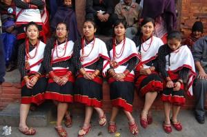 Newar Clothing in Nepal