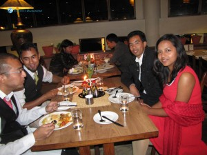 25. Candle lighted Dinner