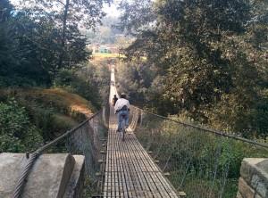 16. Slippery bridge