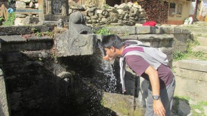 19. Refreshing water
