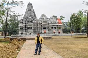 41. Before the billionare's temple