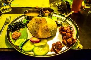 51. Thakali food