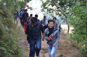11. enjoying hiking