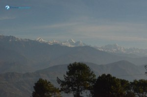 4. view of himal's on the way to trisuli