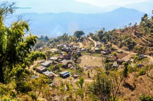 49. Small Village above Gorkha Bazar