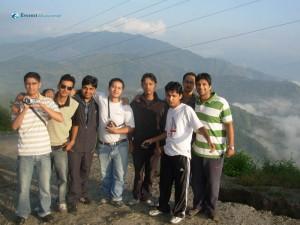 6. Bishu in Rajnikant pose