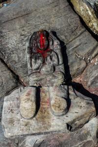 61. Sita's foot step