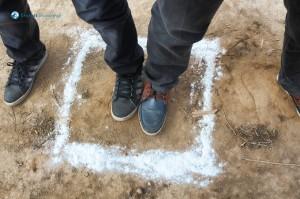 36. Leg on Square