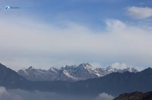 86. Kanchanjunga mountain range