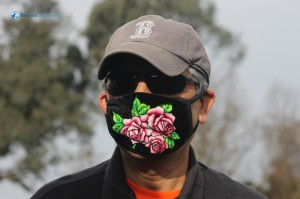92. Man in the rosy mask
