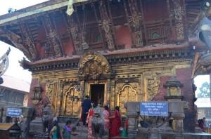 32. The grand temple door