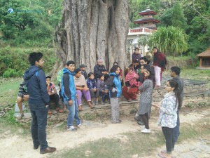 17. Discussion with locals
