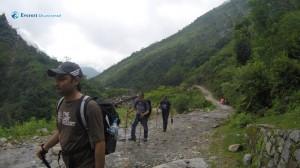 15. Hike begins
