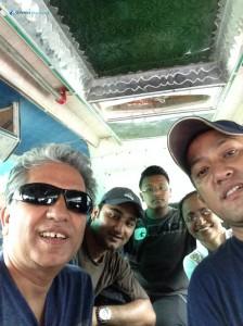 23. Bus selfie