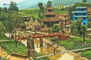 The famous Indreshwar Mahadev